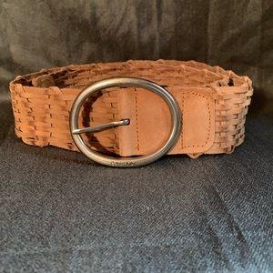 Calvin Klein Wide Leather Belt